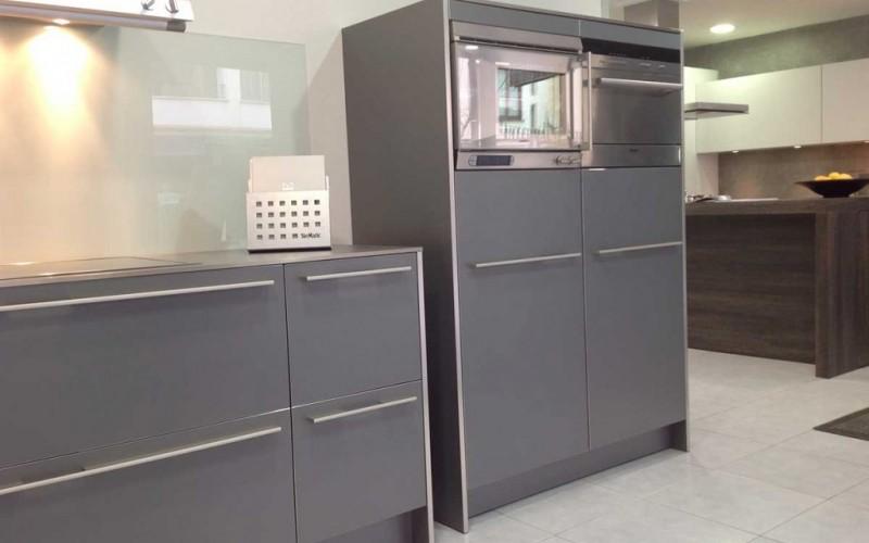 Cocina SieMatic Gris Basalto